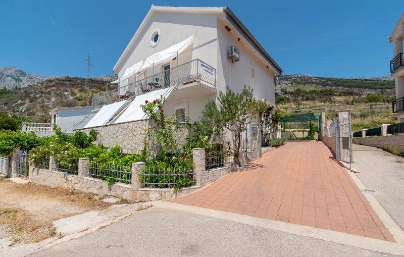 Vida with garden: SA4(4) - Studio Mandula - Orebic, casa vacanza a Donja Vrucica