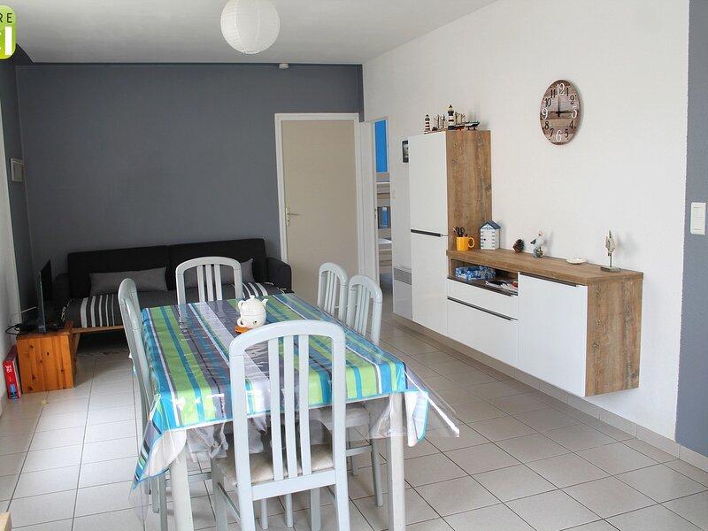 Brévinoise de 60m² - 5 couchages - Proximité centre des Pins, location de vacances à Saint-Brevin-les-Pins