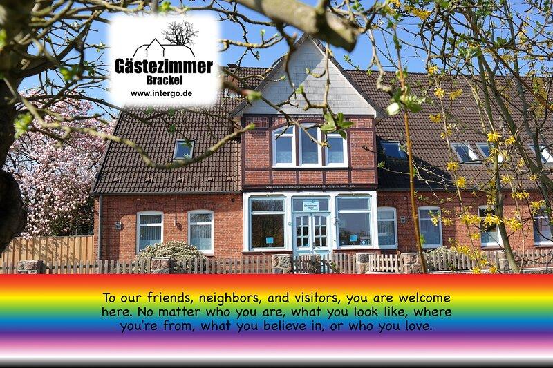 Gästezimmer Brackel Apartment (3-4 bedrooms), casa vacanza a Winsen