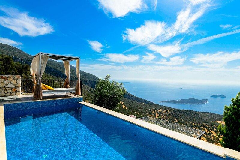 Bezirgan Villa Sleeps 2 with Pool Air Con and WiFi - 5894145, holiday rental in Bezirgan