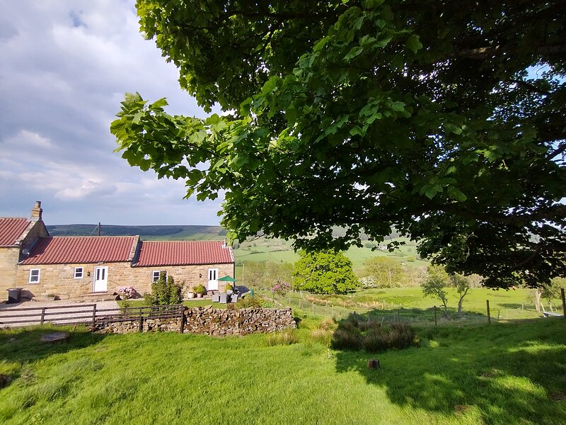 Single story cottage with stunning countryside views in a tranquil location, holiday rental in Lastingham