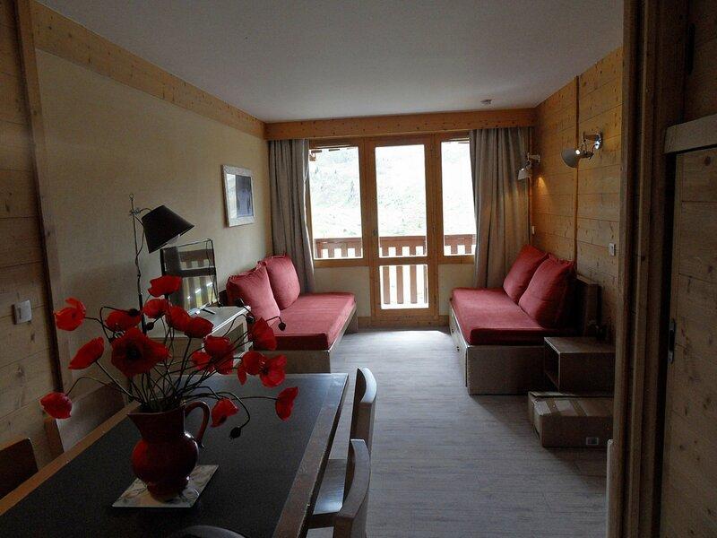 Appartement 3 pièces pour 7 personnes, au pied des pistes, location de vacances à Belle Plagne