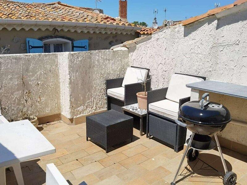 Maison de ville MARSEILLAN 4 couchages, holiday rental in Florensac