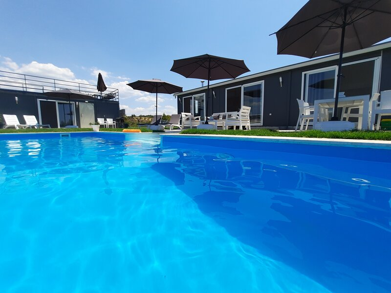 Luxurious private holiday complex, magnificent sea view, holiday rental in Okurcalar