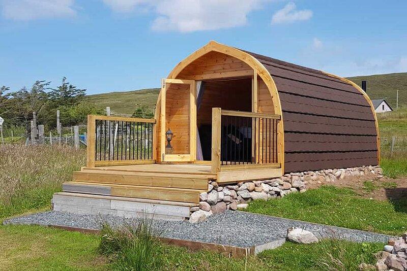 Shiskine Luxury Pod, location de vacances à Gairloch