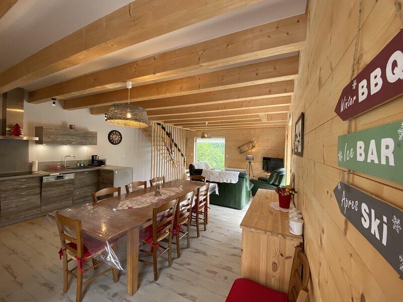 Chalet Duplex 6B, location de vacances à Le Falgoux