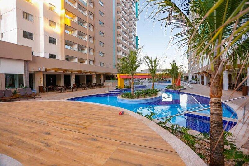 Olímpia Park Resort à 50m do Thermas dos Laranjais, alquiler vacacional en Olimpia