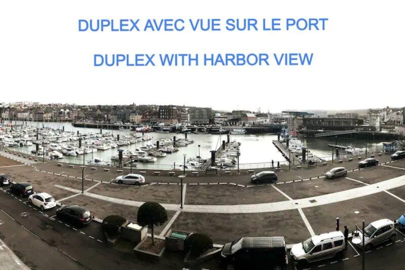 Duplex avec Vue sur le port de plaisance, location de vacances à Belleville-sur-Mer