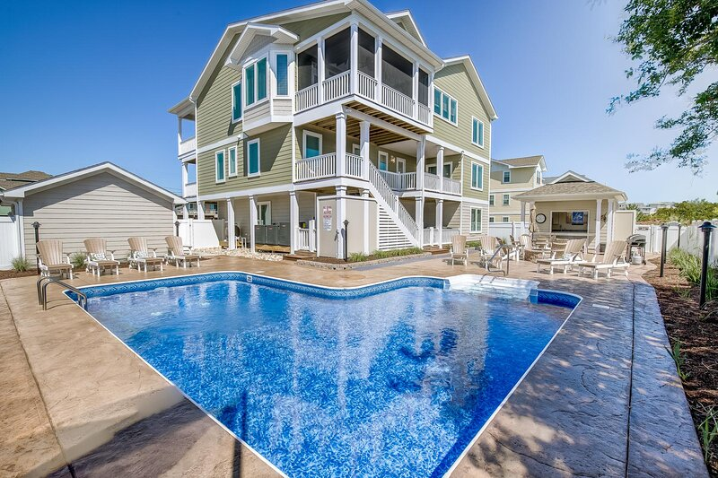 X-TA-SEA | 440 ft to the beach | Private Pool, Hot Tub, Dog-Friendly, holiday rental in Virginia Beach