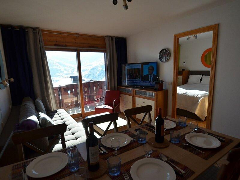 Alpages de Reberty - Ancolie 11, casa vacanza a Les Bruyeres