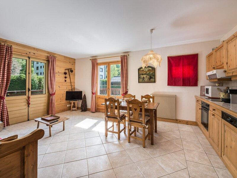Location Appartement 3 pièces MEGEVE PROCHE CENTRE, casa vacanza a Megève