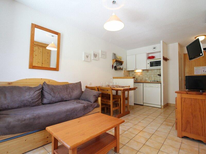 PPB011 Appartement 4 pers - Résidence au pied des pistes, alquiler de vacaciones en Lanslevillard