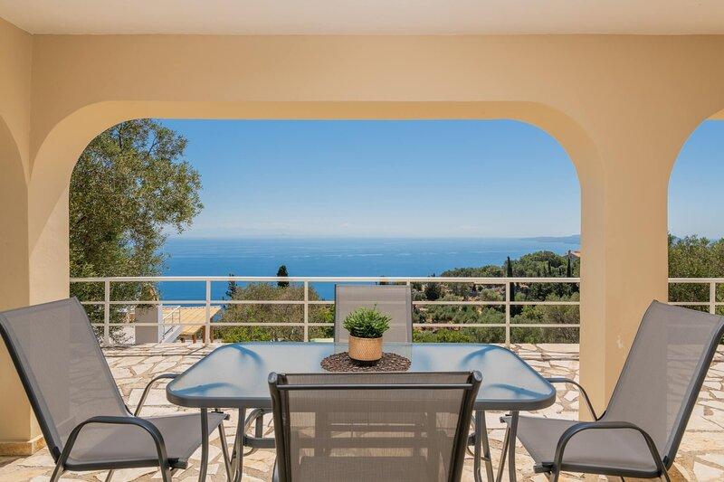 Galini - 2 Bedroom Ground Floor Apartment with Sea View - Armyra Villas, holiday rental in Agios Nikolaos