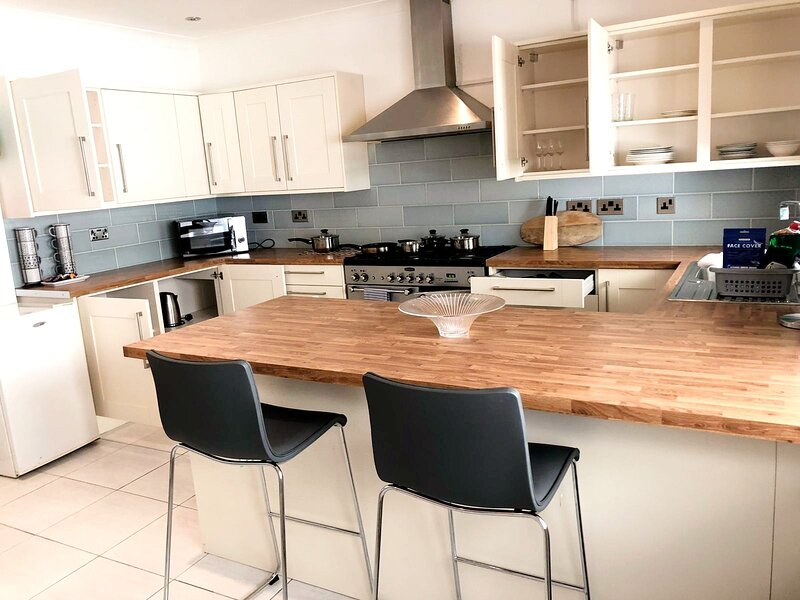 Homely Spaces Presents LARGE House, Sleeps Up to 7, holiday rental in Ravensden