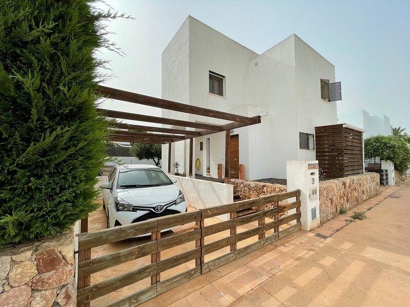 Casa El Naranjo, en pleno corazón del Parque Natural Protegido del Cabo de Gata, casa vacanza a Los Escullos