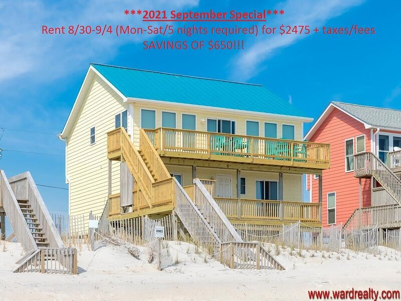 OCEANFRONT!! - 5 BR / 3 BA - YOLO, holiday rental in North Topsail Beach