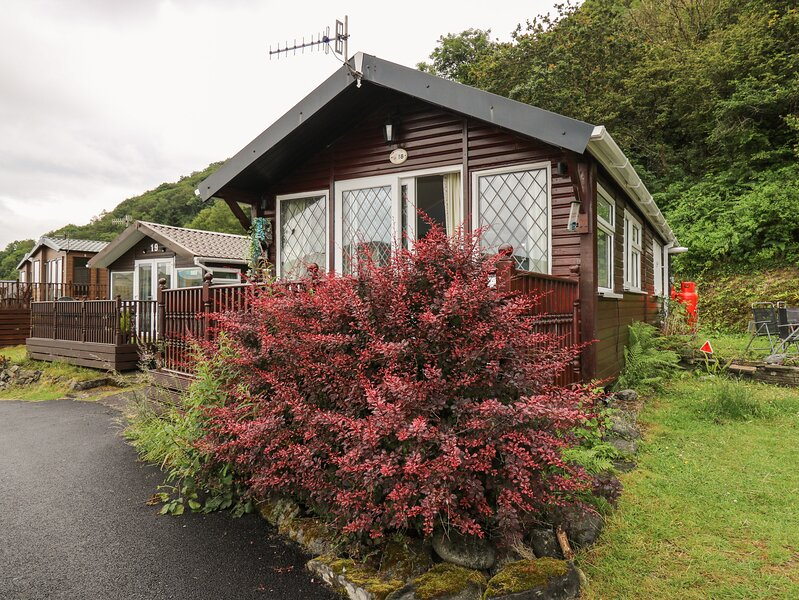 NO. 18 Smarty's View, detached chalet, two bedrooms, on-site facilities, beach, location de vacances à Aberystwyth