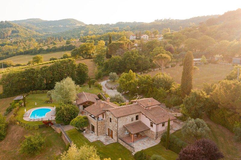 Villa Podere Cerretino, holiday rental in Poppi
