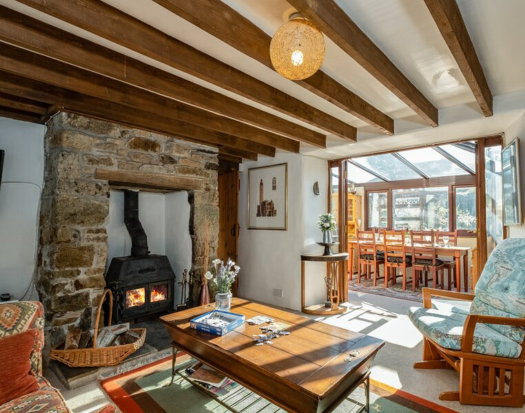 Trehaverock Cottage, Trelights, vacation rental in Pendoggett