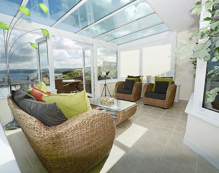 Merlin's View, aluguéis de temporada em Port Gaverne