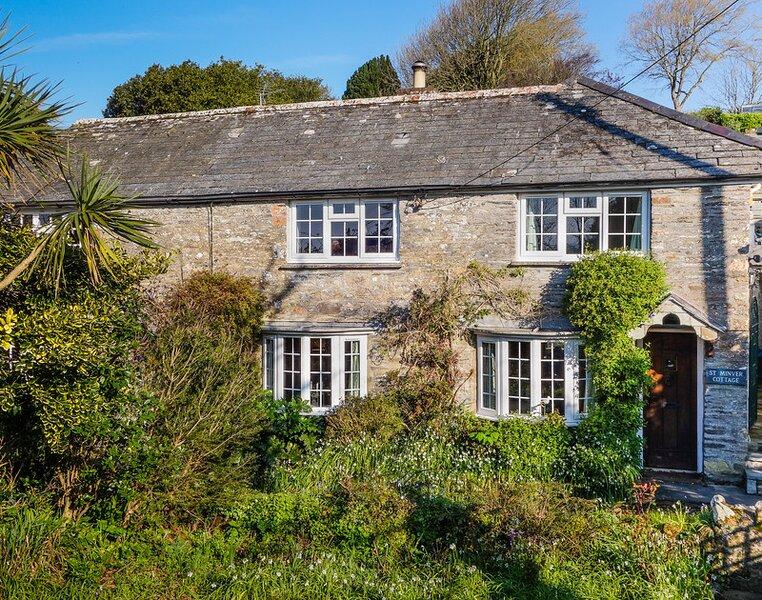 St Minver Cottage, Wadebridge, holiday rental in St Minver