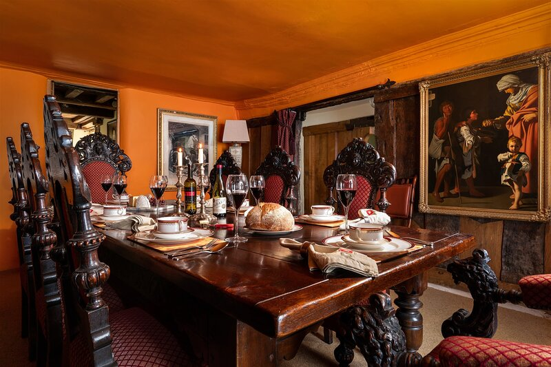 The Meeting House – Atmospheric 16th-century townhouse, vacation rental in Widecombe in the Moor