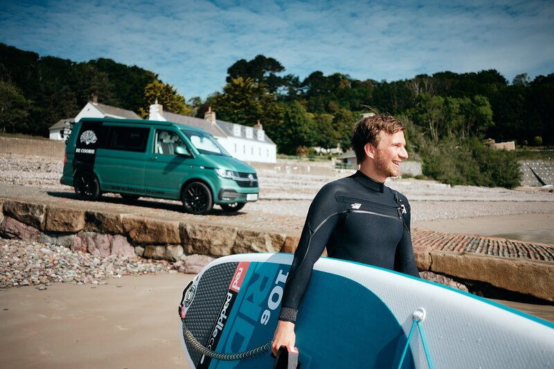 BeCoorie Campervan Hire, holiday rental in Jersey