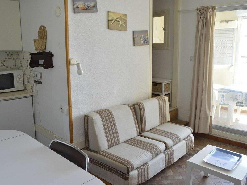 Appt Studio cabine 4 couchages CAP D 'AGDE, location de vacances à Cheret