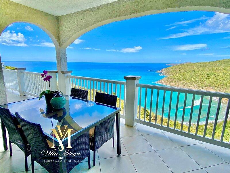 Private Beach Views! Luxury Villa Milagro - Victorian Theme, holiday rental in Charlotte Amalie