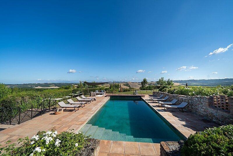 Villa Yustia, holiday rental in Peccioli