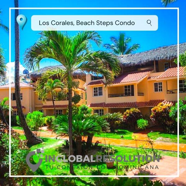 Los Corales Beach Steps Condo Playa Bavaro C101 – semesterbostad i El Cortecito