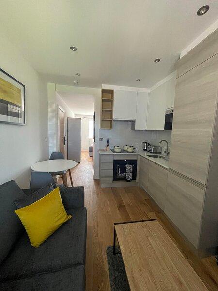 High spec studio apartment close to amenities in Sydenham, aluguéis de temporada em Beckenham