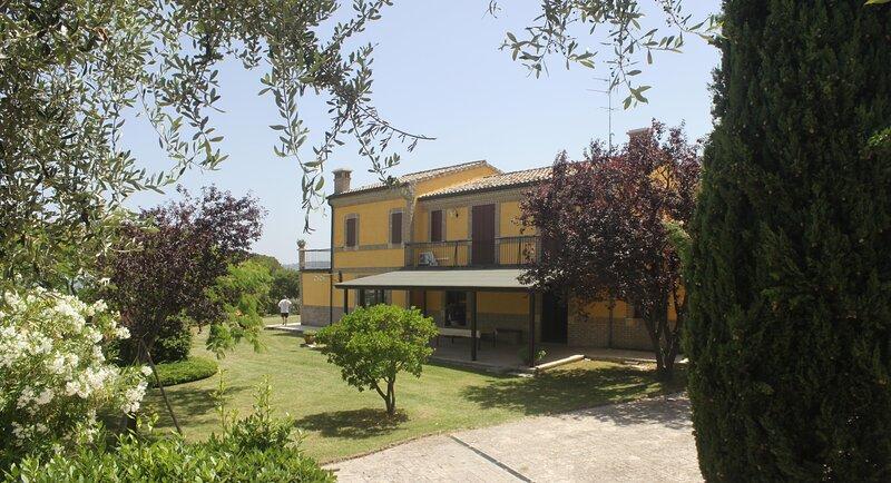 Belvedere Fortuna 8 posti letto, holiday rental in Monte San Pietrangeli
