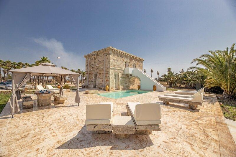 Villa Turris - Alliste, location de vacances à Felline
