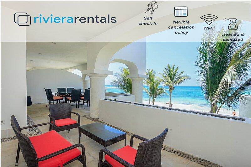SUNLIGTH 3 BR CONDO SEA VIEW AND BIG TERRACE!, alquiler vacacional en Playa Paraíso