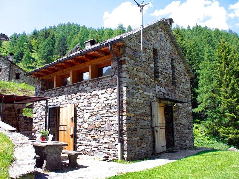 Dara Cotta, Ferienwohnung in Malvaglia