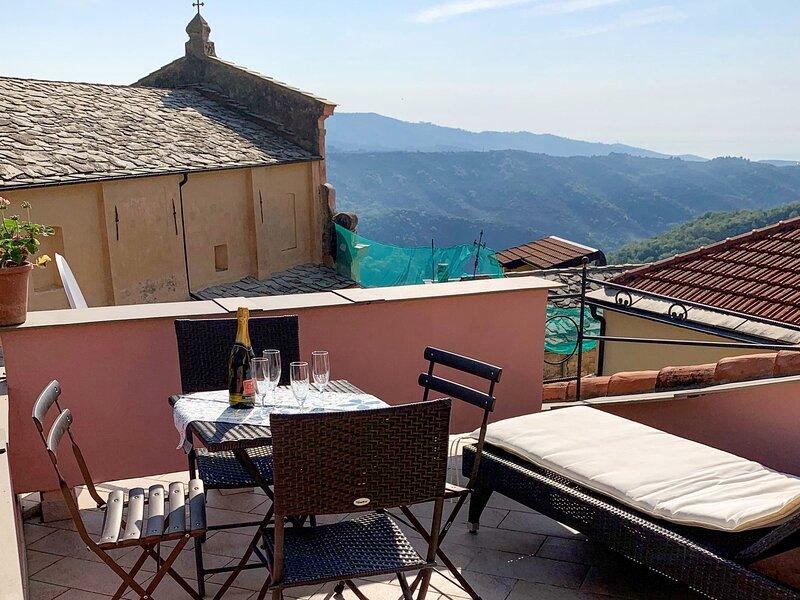Arietta, holiday rental in Montalto Ligure