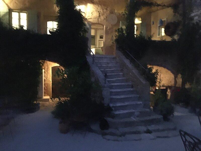 The Mas at night