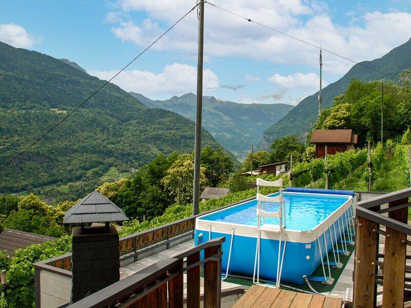 Casa Pina, Ferienwohnung in Malvaglia
