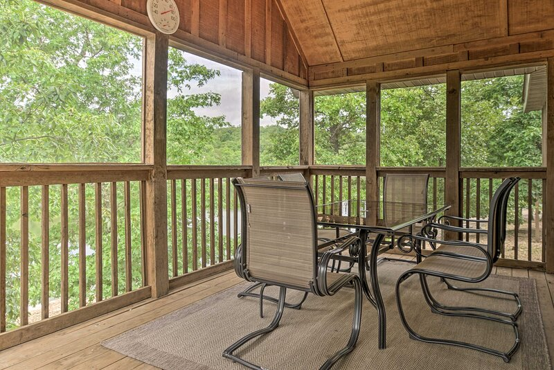 Branson West Vacation Rental | 2BR | 2BA | 1,100 Sq Ft | Step-Free Access