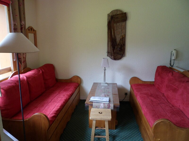 Très beau 2 pièces pour 4/5 personnes au pied des pistes, 27 m2, holiday rental in Belle Plagne