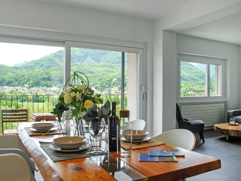 Casa Conti, location de vacances à Avegno Gordevio
