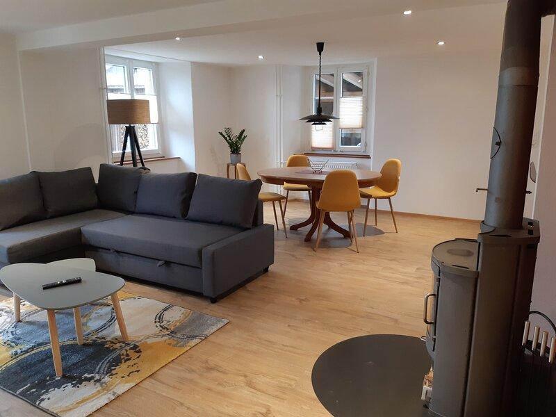 Appartement - Le Pélerin, aluguéis de temporada em Saint-Ursanne