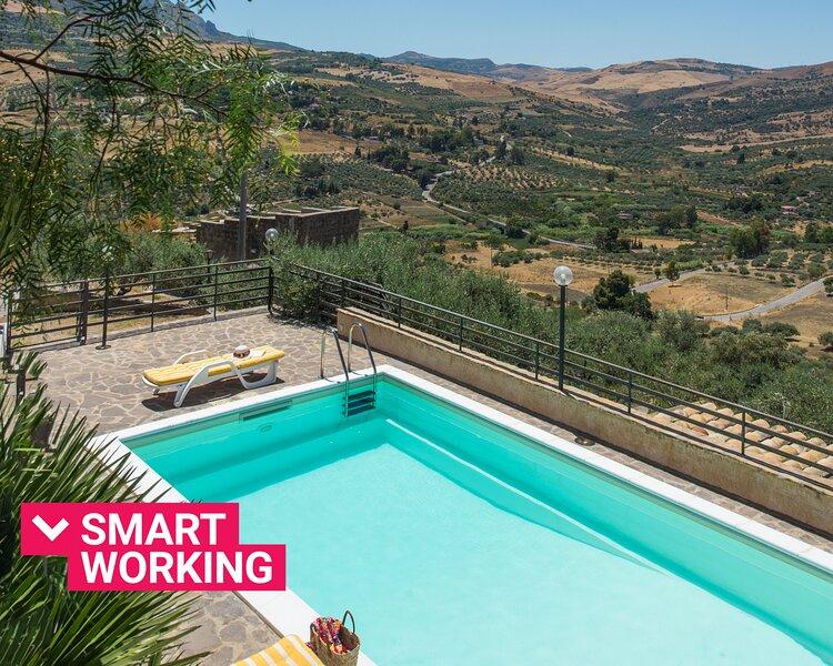 Casale degli Ulivi con piscina by Wonderful Italy, alquiler vacacional en Mezzojuso