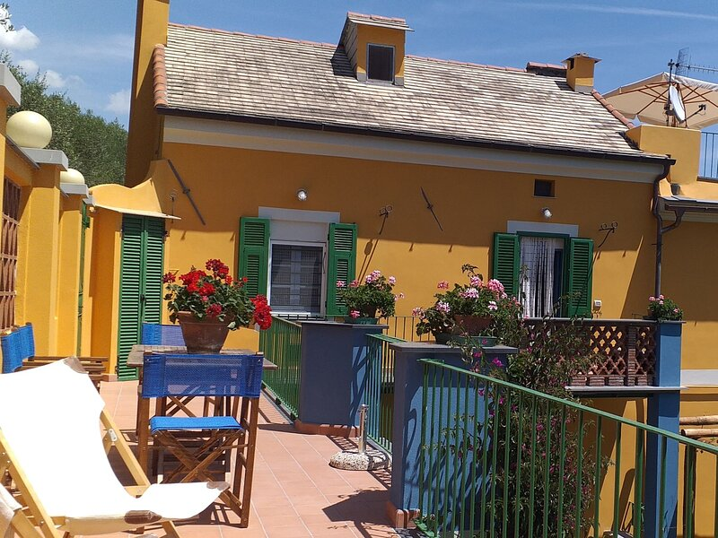 Casa del Poggio, alquiler vacacional en Savona