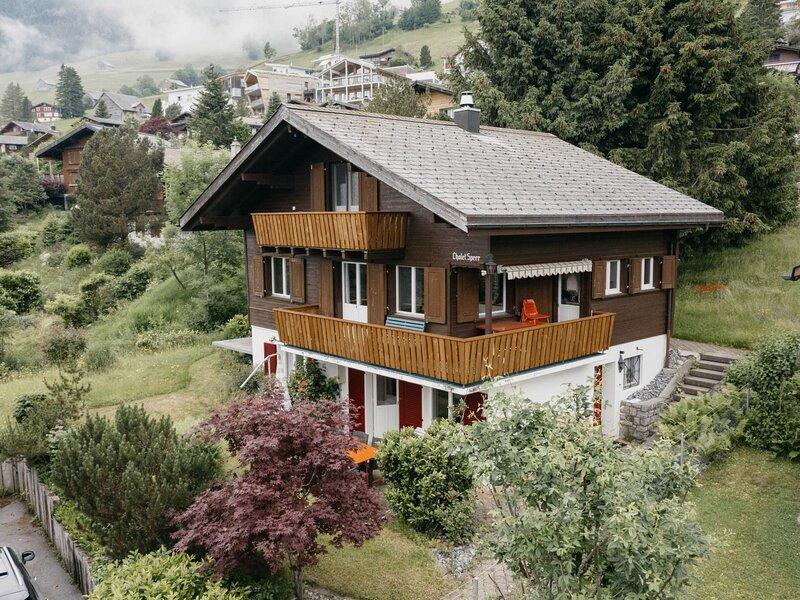 Chalet Speer, holiday rental in Oberterzen