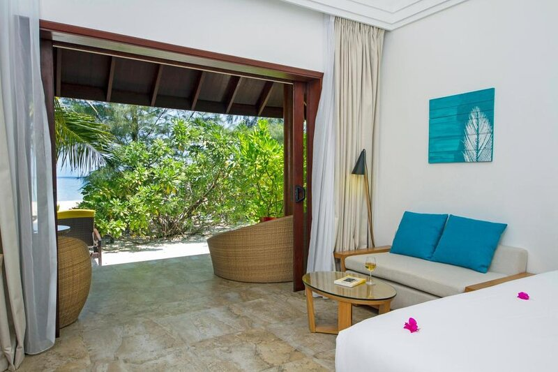 Villa (41m2) direct on the beach, half board/FB/AI, holiday rental in Gaafaru