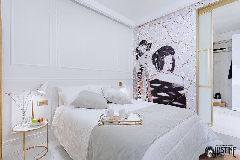 Suite Kintsugi by Justine Apartments -  Apartamento turístico en Madrid Río, holiday rental in Pinto