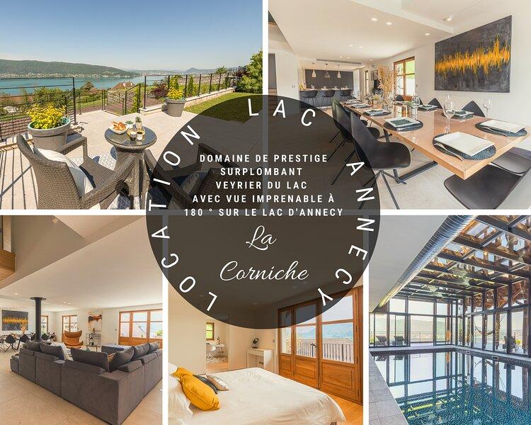 VEYRIER La Corniche Prestige, Villa with Spa-Pool, holiday rental in Veyrier-Du-Lac