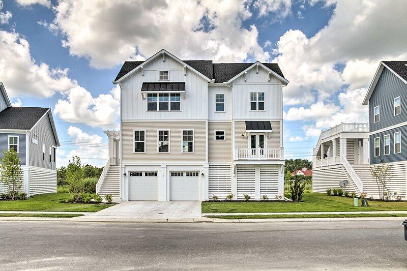 NEW! Upscale Coastal Home, 2 Mi to Bethany Beach!, holiday rental in South Bethany